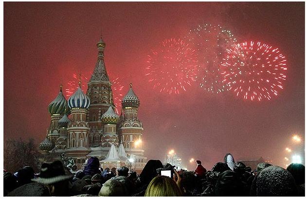 Мир встретил Новый Год.