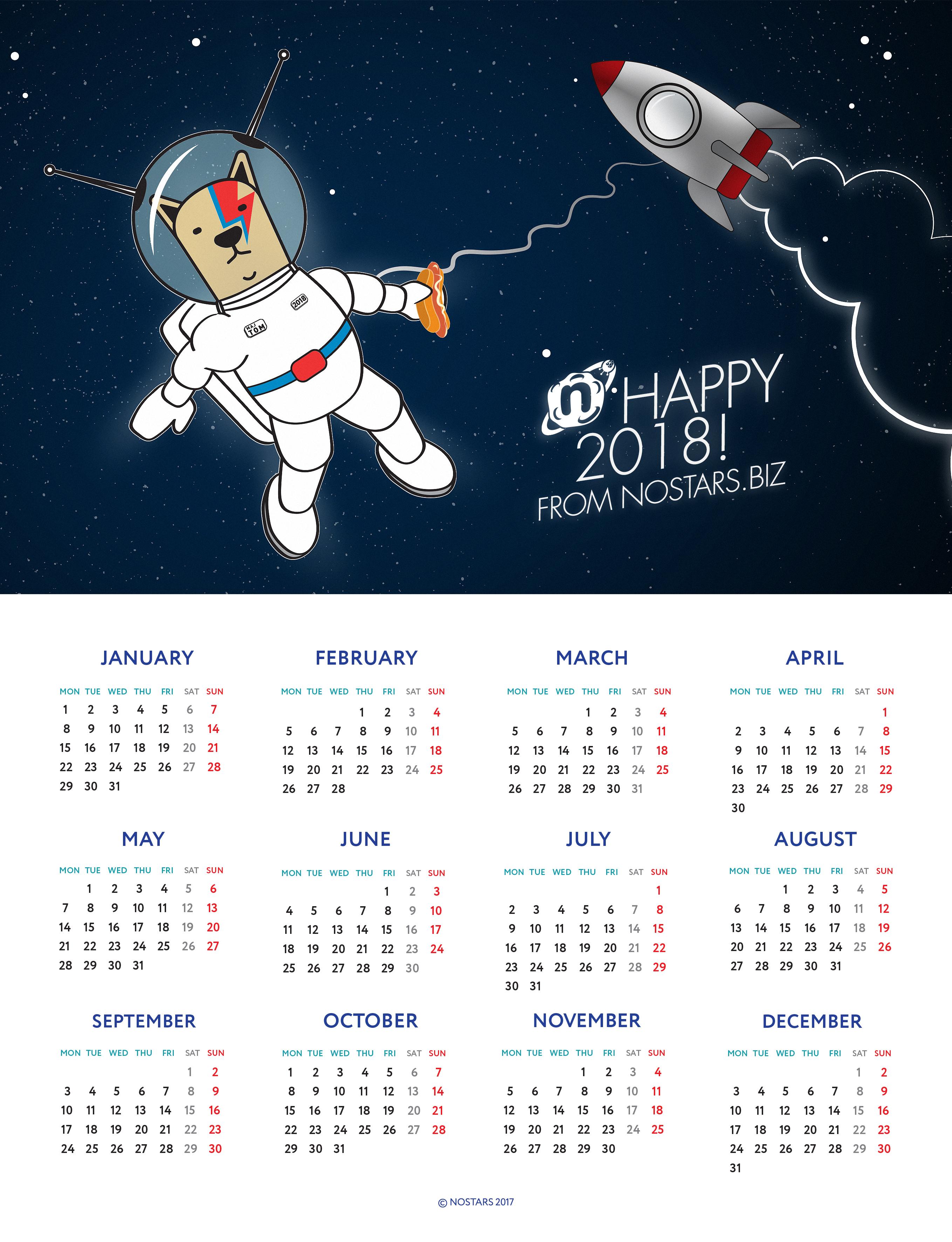 Nostars.biz поздравляет своих друзей с новым годом!
