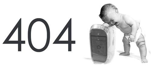 Самые оригинальные страницы 404.