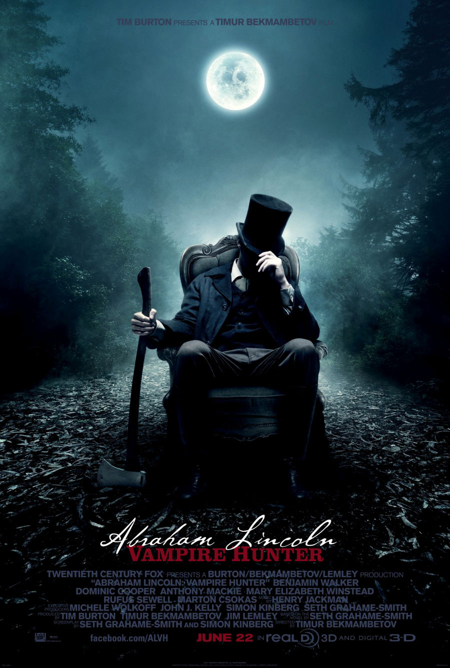 Авраам Линкольн: Охотник на вампиров. / Abraham Lincoln: Vampire Hunter.