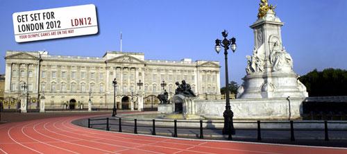 Рекламная концепция Олимпийских игр в Лондоне 2012.