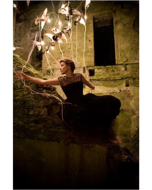 Alex Randall и её лампы.