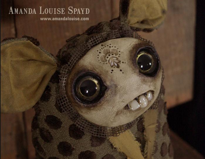 Amanda Louise Spayd и её существа.