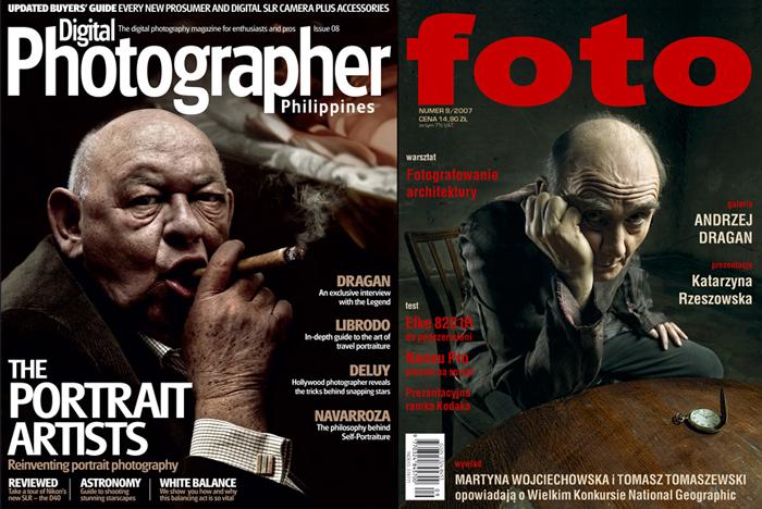 Andrzej Dragan. Фотографии и ретушь.