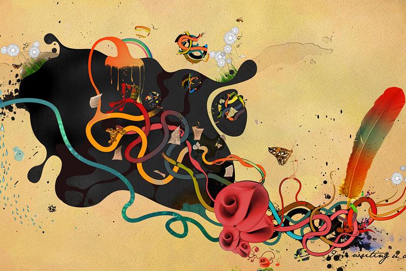 Иллюстрации Archan Nair.