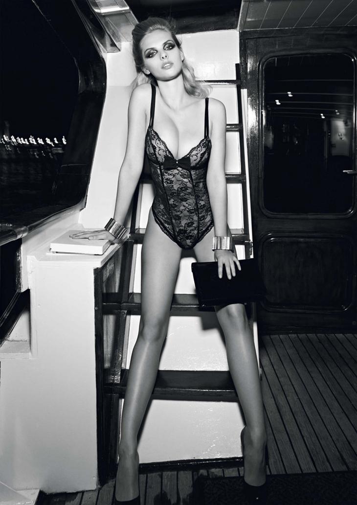 Лукбук Aubade lingerie F/W '12.