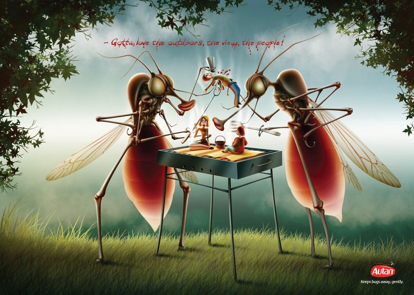 AUTAN REPELLENT:как отвадить комаров вежливо.