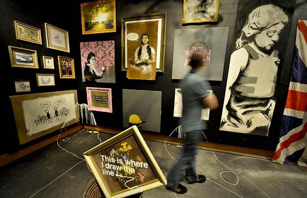 Banksy versus Bristol Museum.