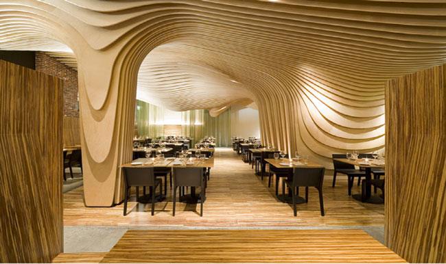Интерьер ресторана BanQ.
