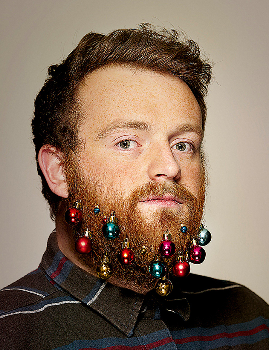 Beard baubles: украшения для бороды.