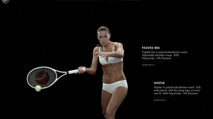 Bjorn Borg: теннис в нижнем белье.