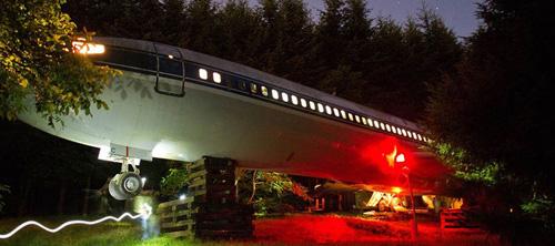 Дом из Boeing 727.