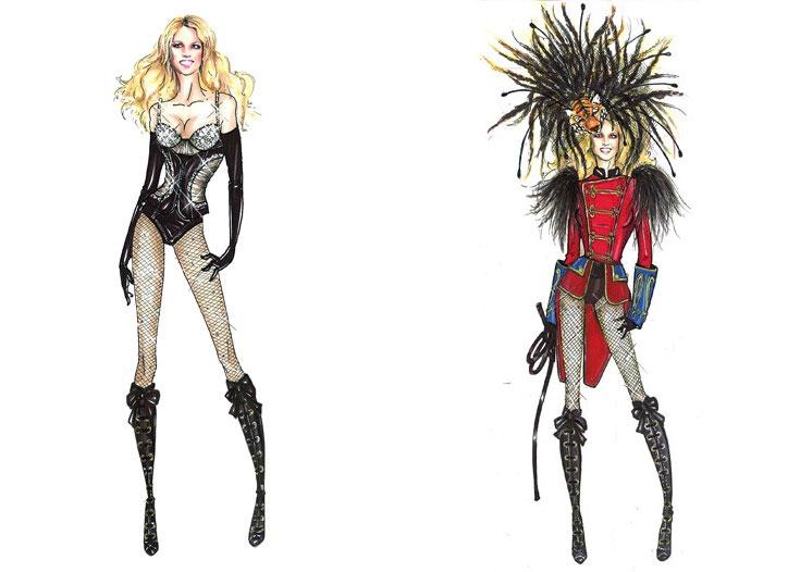 Бритни Спирс (Britney Spears) связалась с Dsquared.
