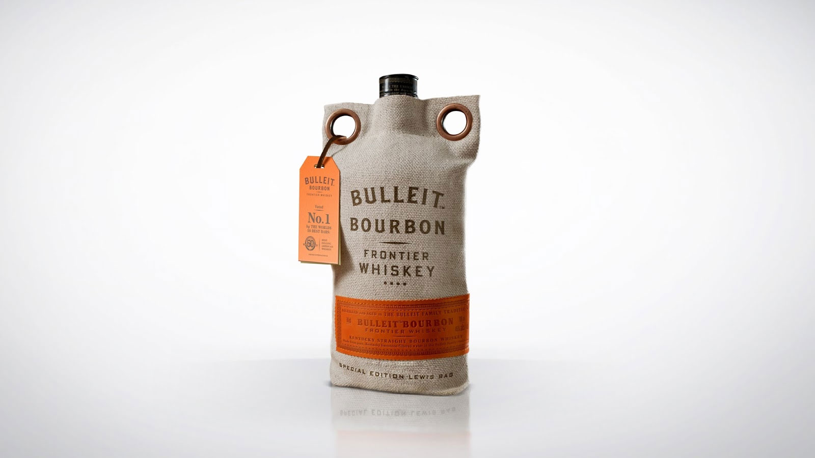 Упаковка для Bulleit Whiskey.