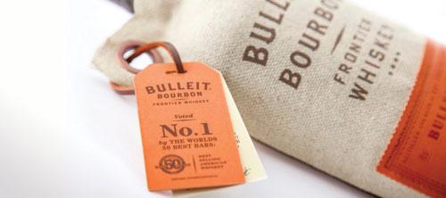 Упаковка для Bulleit Whiskey.