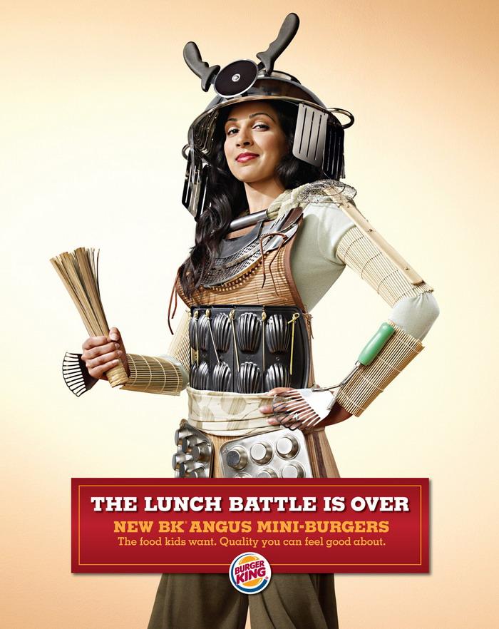 Burger King UK: битва за ланчи окончена.