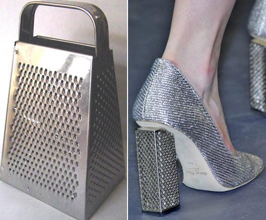 Туфли-тёрка от Calvin Klein.
