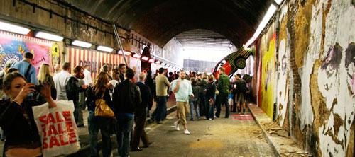 The Cans Festival. Фестиваль граффити в Лондоне, 2008