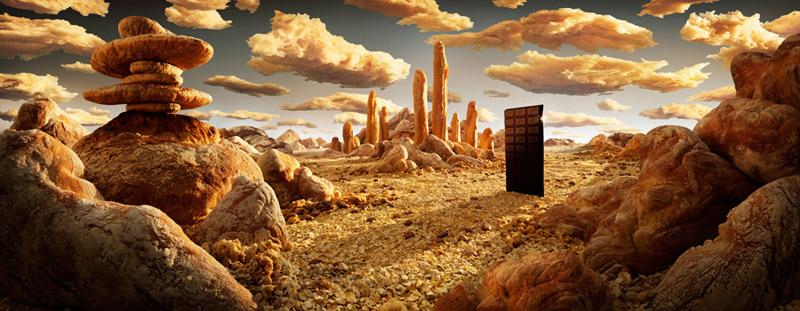Carl Warner: съедобные ландшафты.