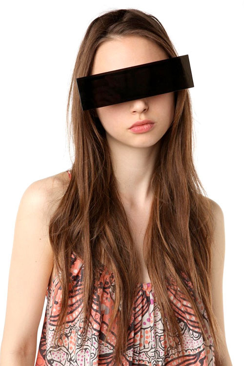 Цензурные очки.