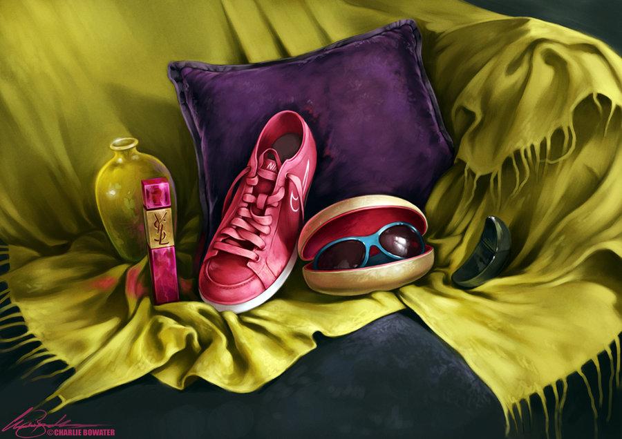 Иллюстрации Charlie Bowater.
