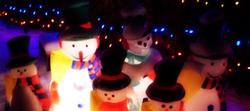 Лучшая рождественская иллюминация со всего мира.