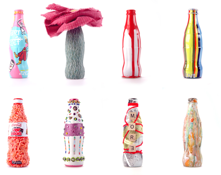 Эволюция бутылок Coca Cola