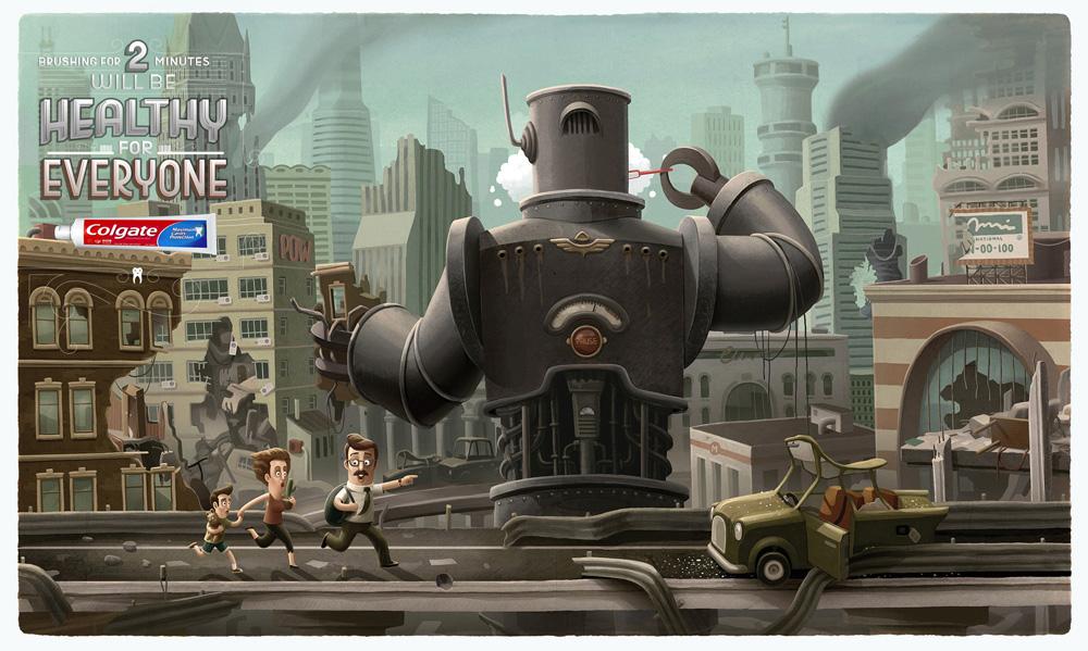 Colgate: роботы тоже делают это. title=