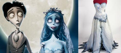 Платье мёртвой невесты.