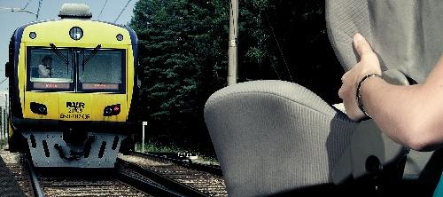 Пристегнулись и полетели! Социальная реклама латвийской дирекции по безопасности дорожного движения.