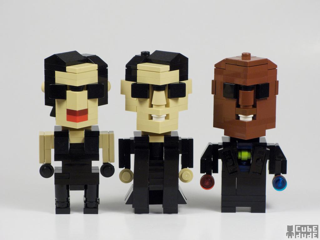 CubeDude Lego: от Бэтмена до Джулса и Винсента.