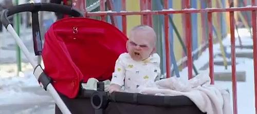 Devil's Due: младенец-антихрист.