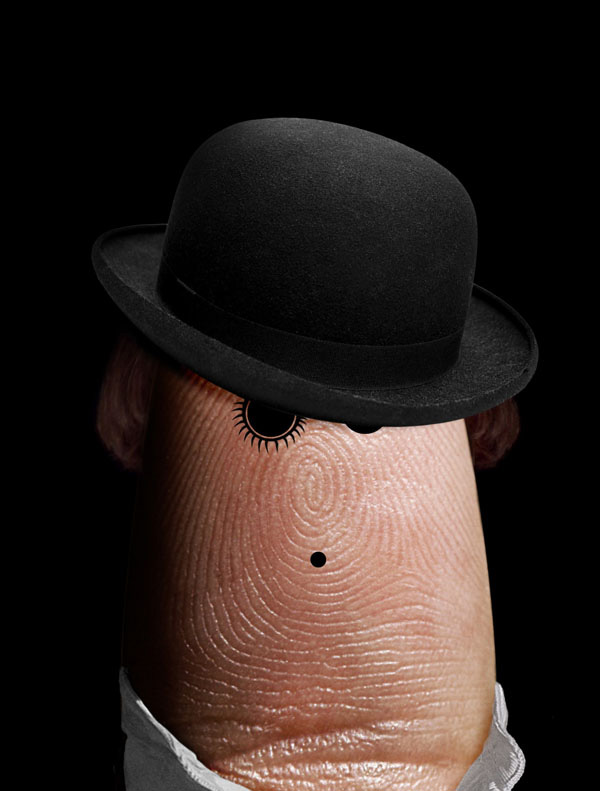 Ditology: пальцепортреты Dito Von Tease.