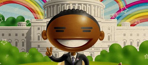 Обама с ванилью: скандальная реклама мороженого Дуэт