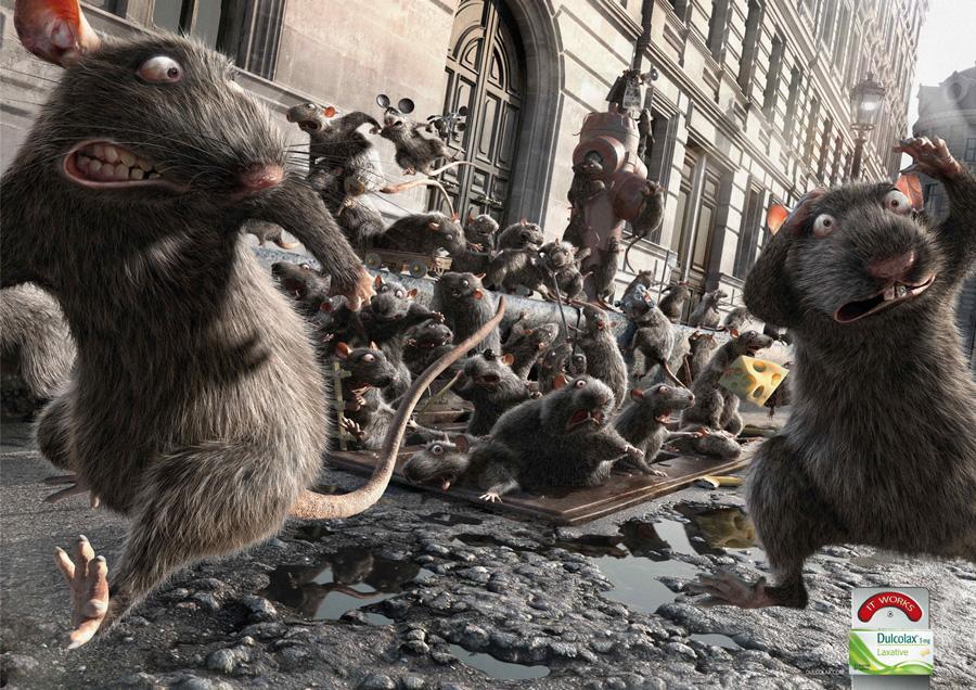 Dulcolax: Rats.