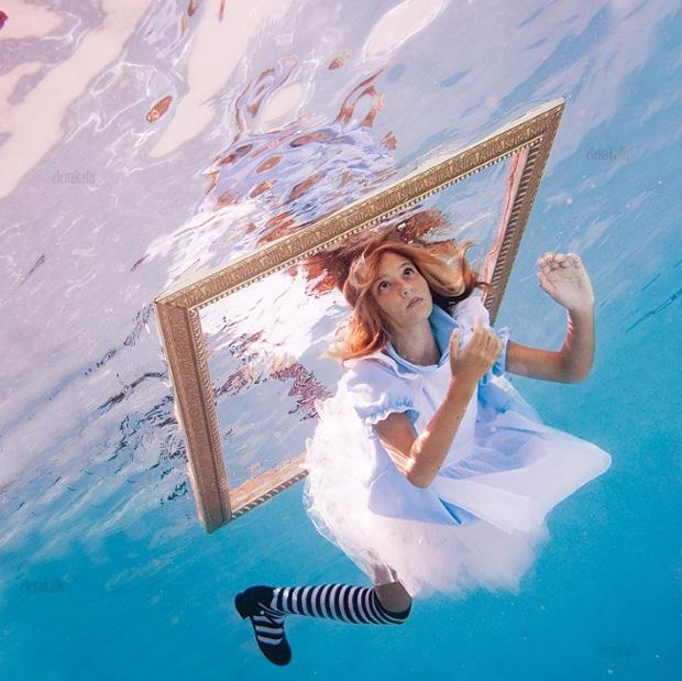 Elena Kalis: подводные фотографии.