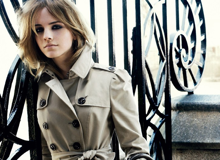 Emma Watson снялась для Burberry.