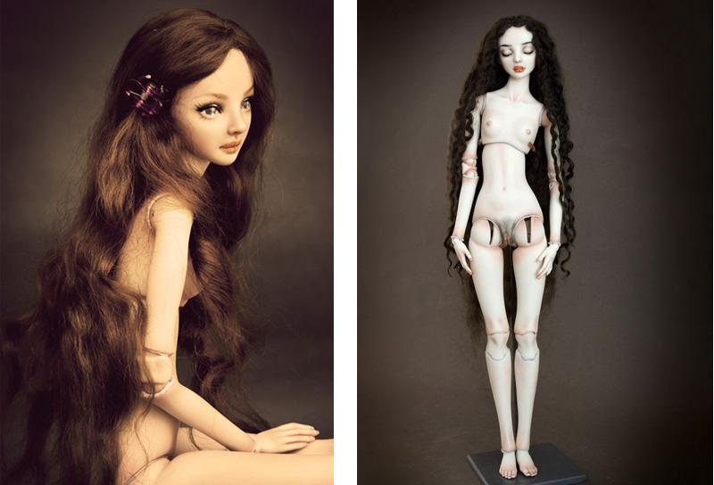 Enchanted doll: очаровательные куклы Марины Бычковой.