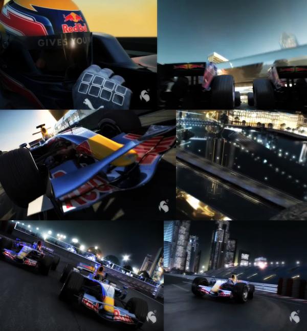 Промо видео GP F1 в Сингапуре 2008.