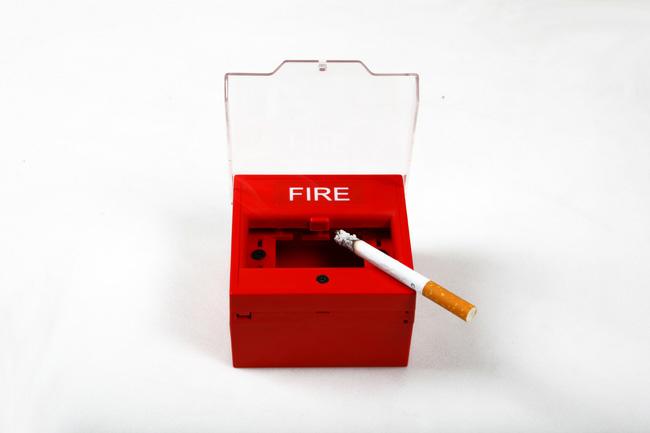 Пожарная пепельница.