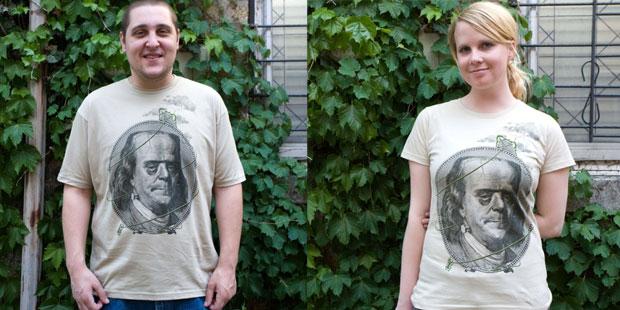 Franklinstein T-shirt.