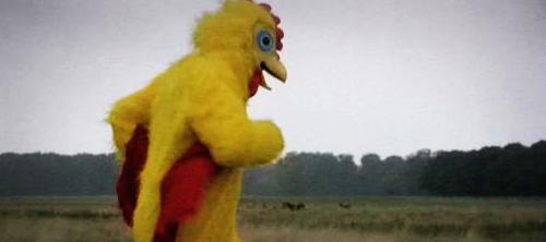 Цыплёнок на стероидах.