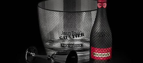 Jean Paul Gaultier для Piper Heidsieck Brut Cuvee.