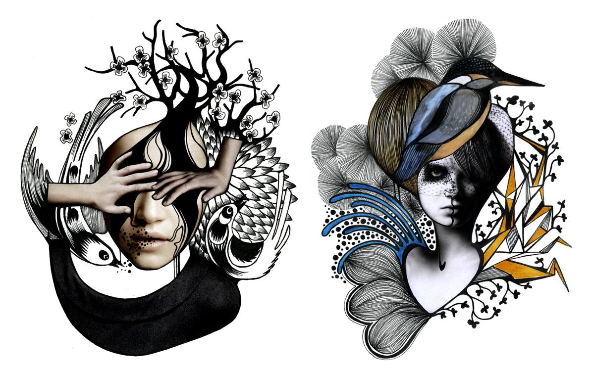 Иллюстрации Geraldine Georges.