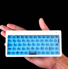 Wireless Illuminated Super Tiny Keyboard
