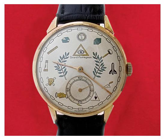 Girard Perregaux: масонские часы.
