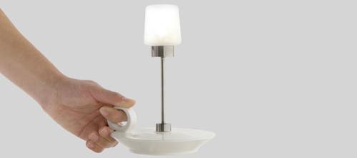 Переносная лампа Christine Birkhoven.