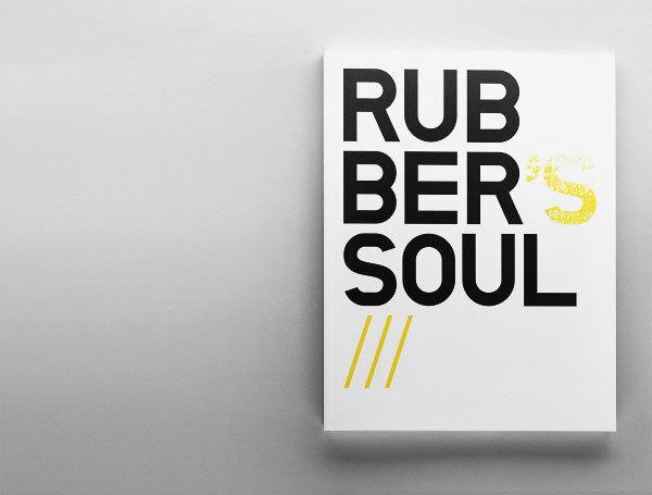 Rubber's Soul. Дизайн для фотосессии.