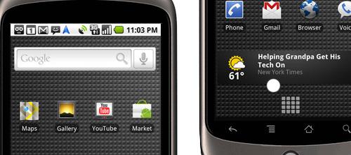 Nexus One: первый телефон от Google.