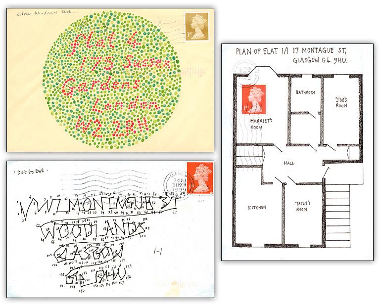 Дизайнерские конверты Harriet Russell.